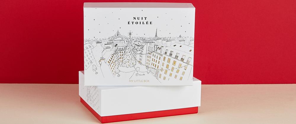 haul boite lettres produits cosmétiques décembre beauté noël
