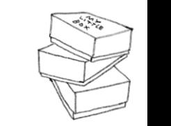 boîtes empilées