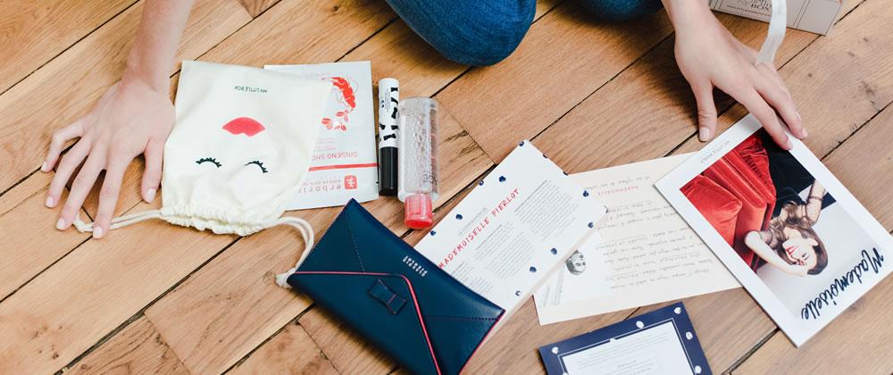 haul boite lettres produits cosmétiques août septembre été