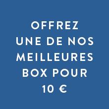 OFFREZ NOS MEILLEURES BOX À 10 €
