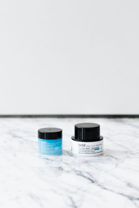 The true cream - aqua bomb & moisturizing eye bomb