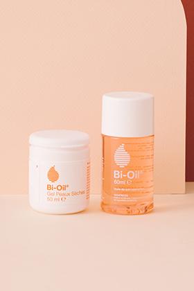 Gel peau sèche (50, 100, 200ml), Huile peau sèche (60ml)
