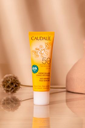 Crème solaire visage anti-rides SPF50