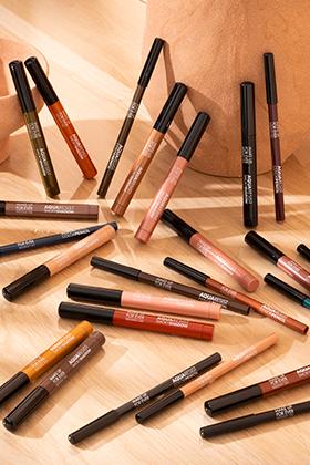 Crayons yeux Aqua Resist : aqua resist color pencil+ aqua resist smoky shadow