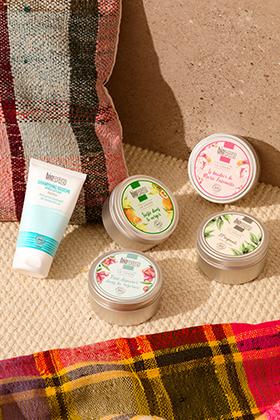Shampoing douche solaire & Crèmes -Originale, Boudoir, Verger, Roseraie