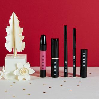 Rouge à Lèvres Creamy Matte, Perfectly Defined Gel Eye Liner, Ink Liner, Glow Stick et Art Stick Liquid Lip de Bobbi Brown