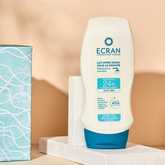 Lait après-solaire sous la douche - ECRAN