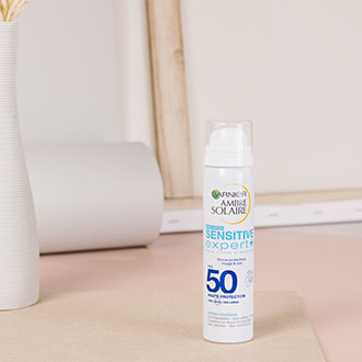 Brume visage et cou Sensitive Expert + SPF 50