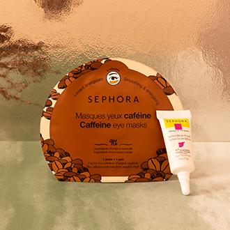 Sérum Super éclat - Masque Yeux caféine