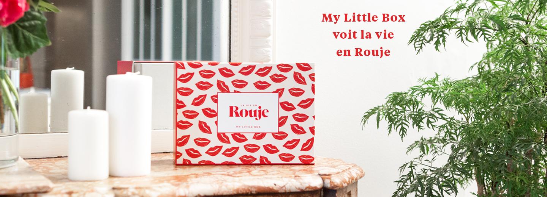 La vie en Rouje - Box Septembre 17 - My Little Box